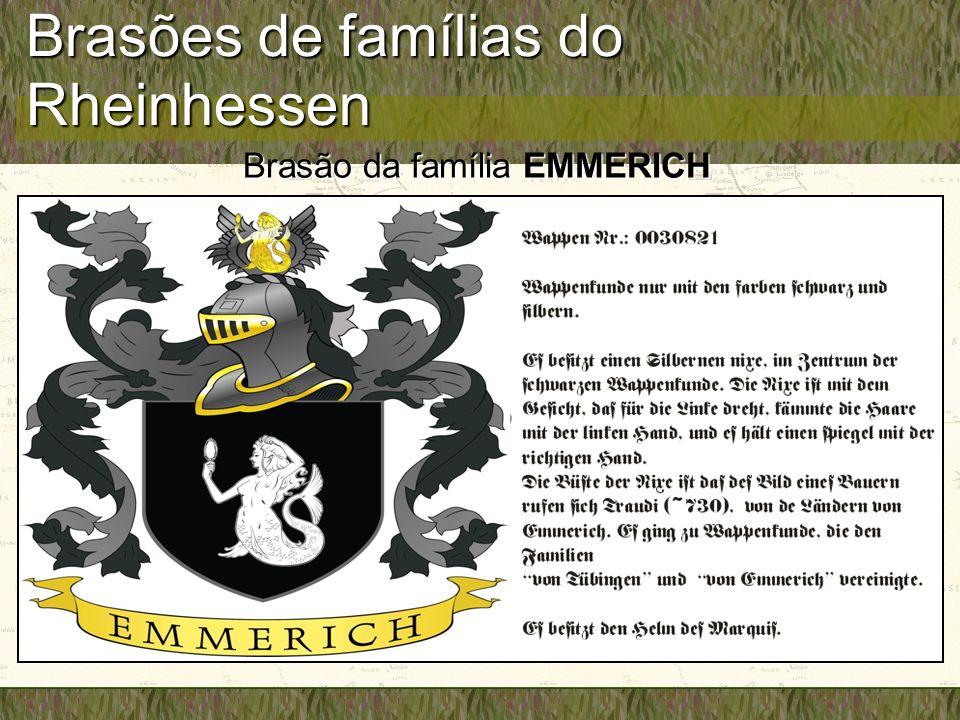 Brasões de famílias do Rheinhessen