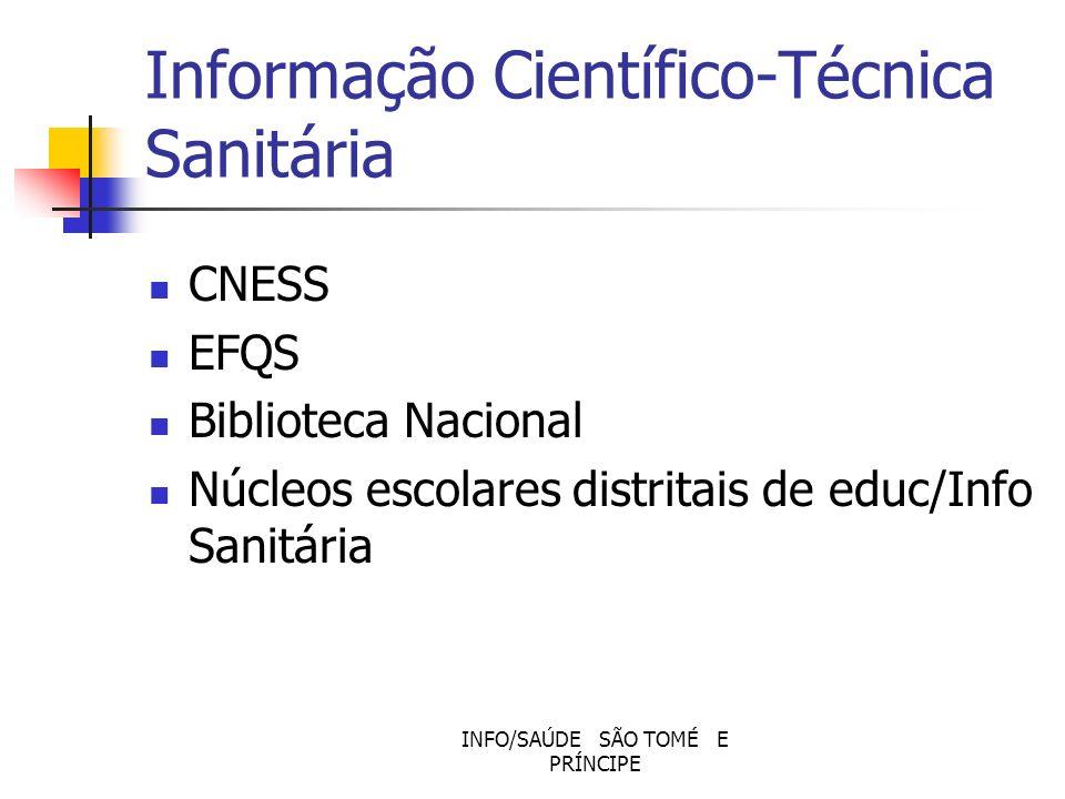 Informação Científico-Técnica Sanitária