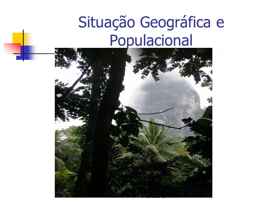 Situação Geográfica e Populacional