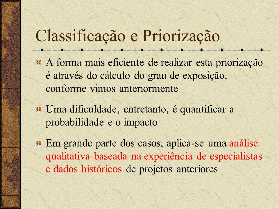Classificação e Priorização