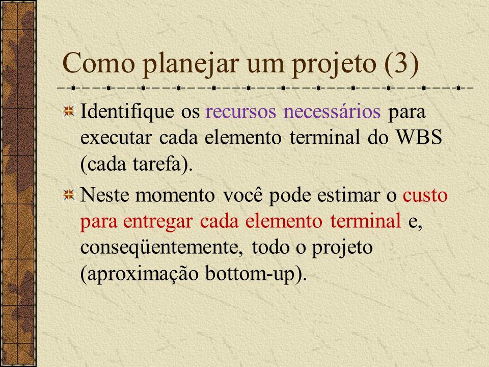 Como planejar um projeto (3)