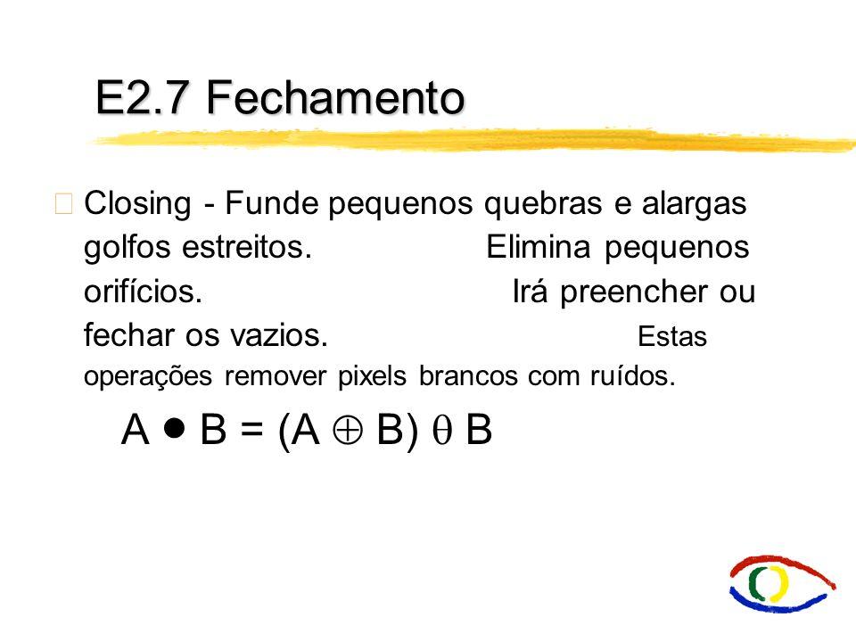 E2.7 Fechamento