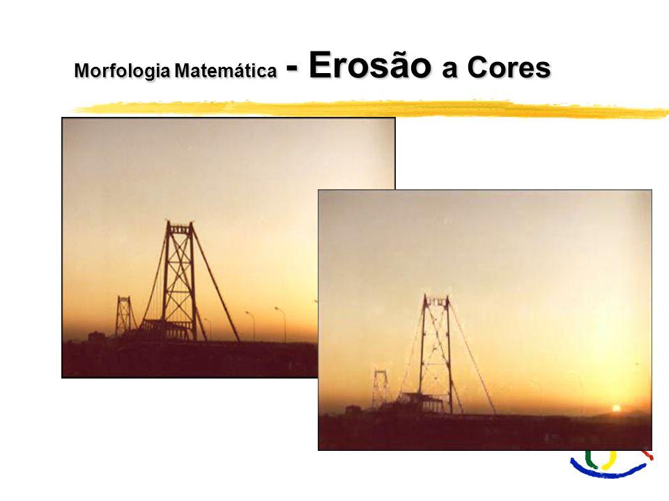 Morfologia Matemática - Erosão a Cores