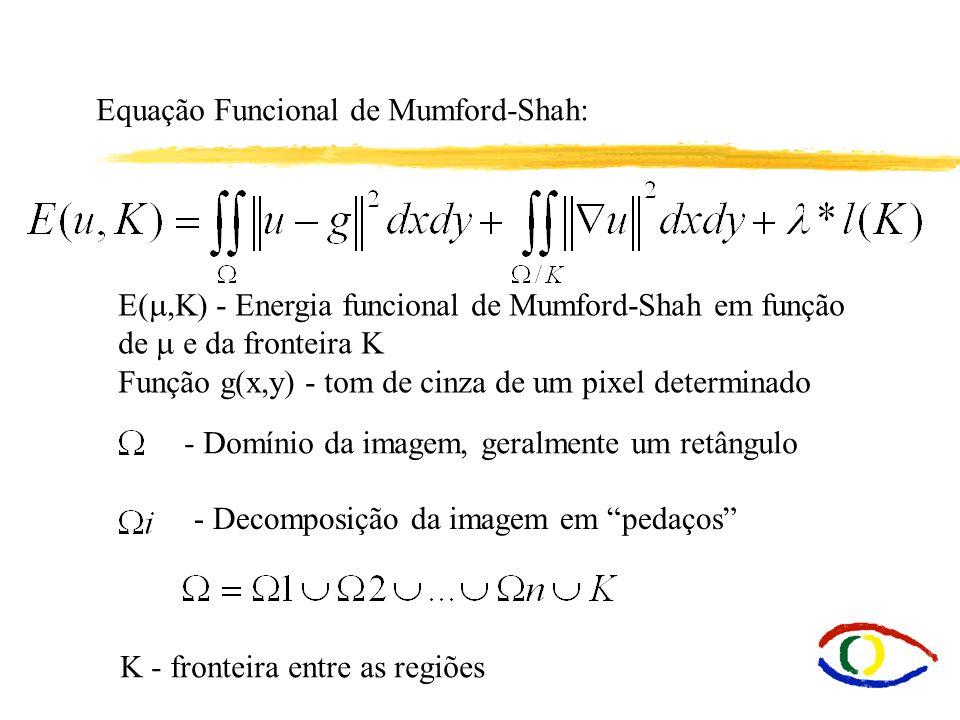 Equação Funcional de Mumford-Shah:
