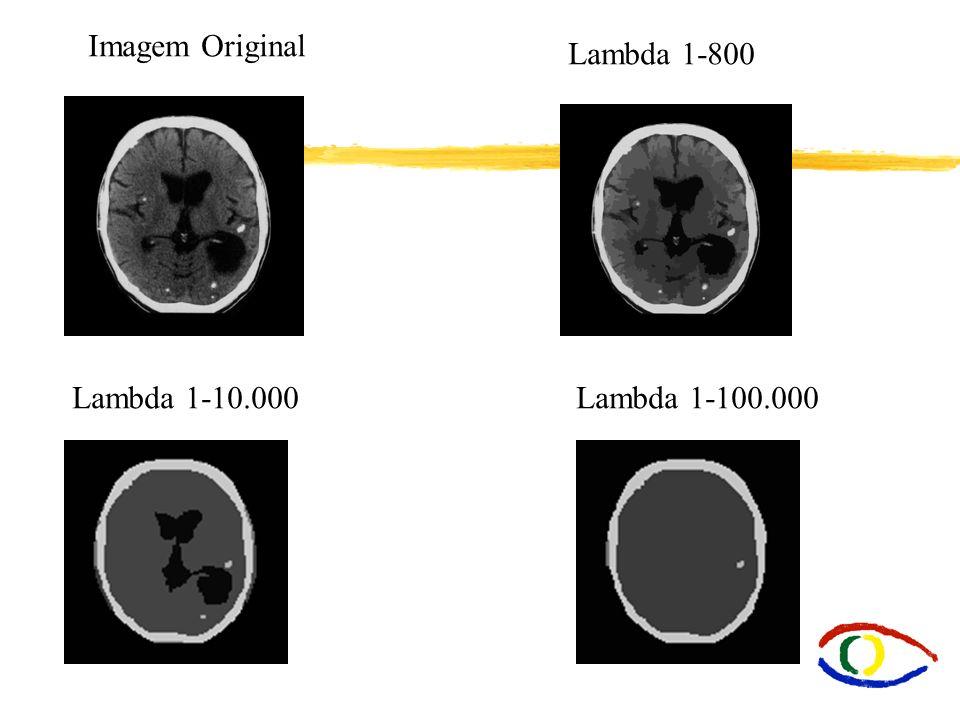 Imagem Original Lambda 1-800 Lambda 1-10.000 Lambda 1-100.000