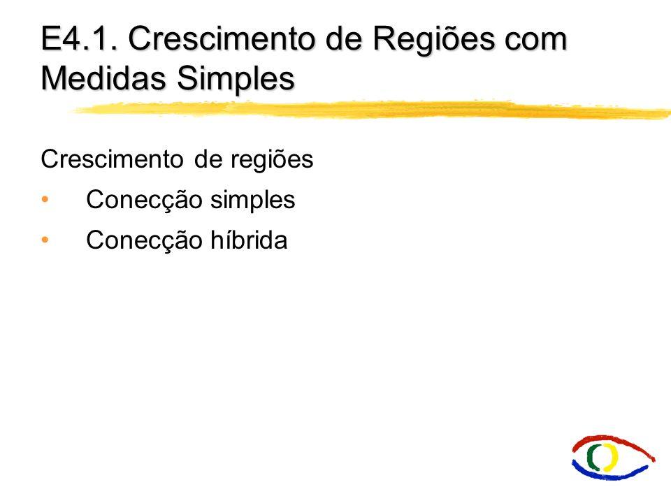 E4.1. Crescimento de Regiões com Medidas Simples