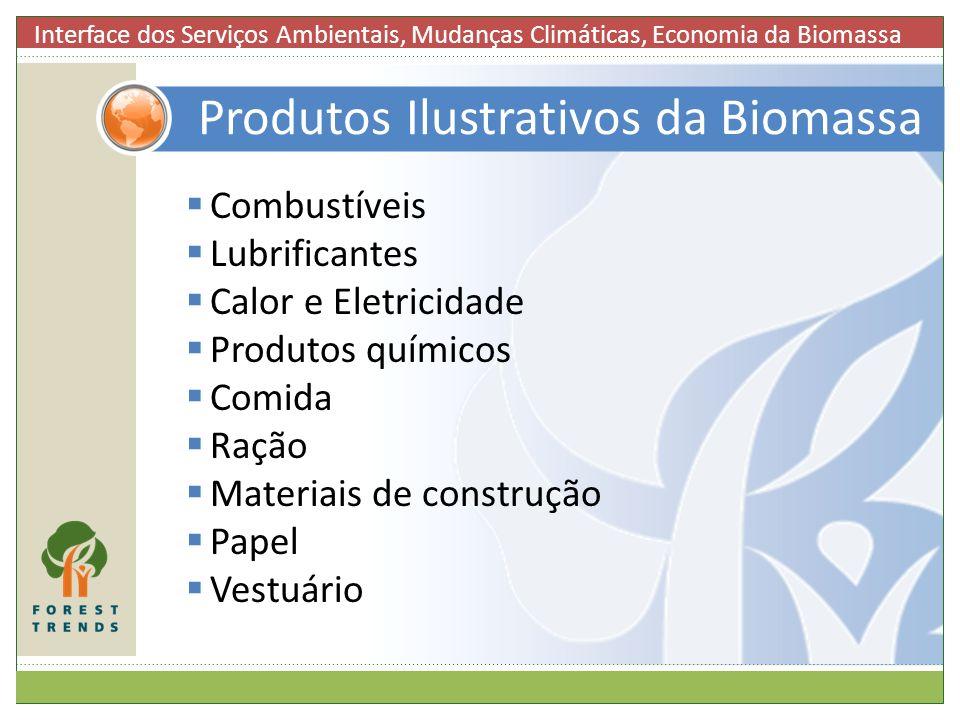 Produtos Ilustrativos da Biomassa
