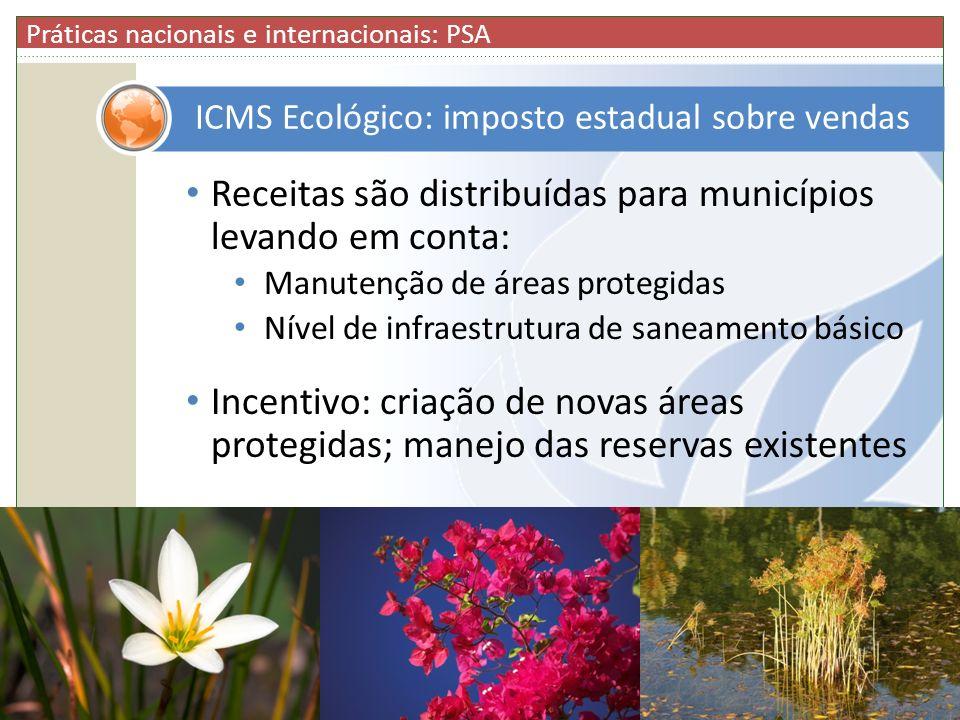 ICMS Ecológico: imposto estadual sobre vendas