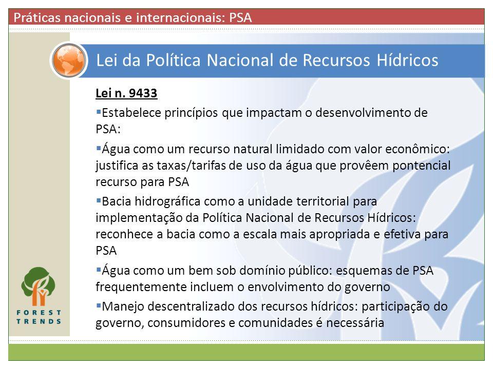 Lei da Política Nacional de Recursos Hídricos