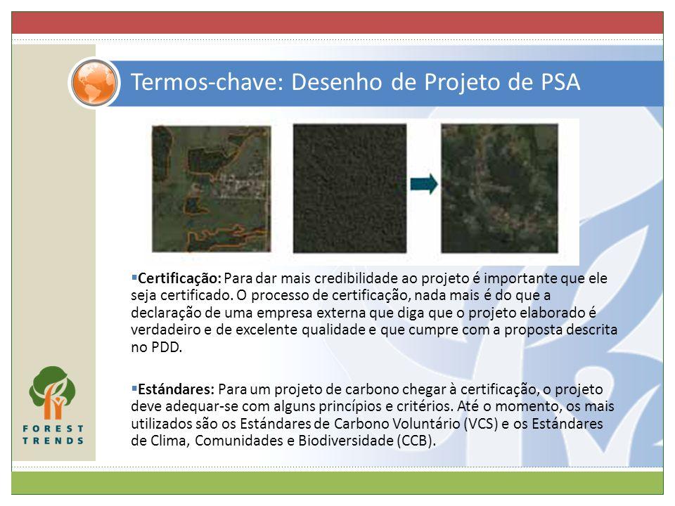 Termos-chave: Desenho de Projeto de PSA
