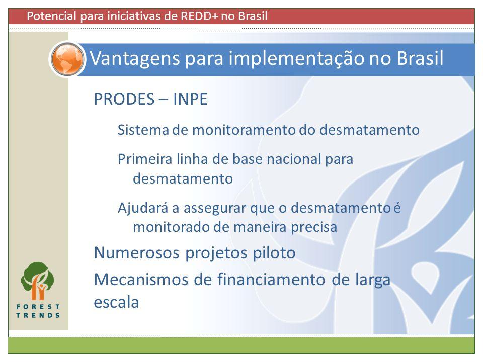 Vantagens para implementação no Brasil