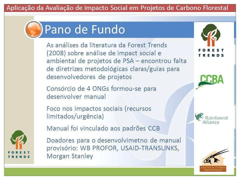 Aplicação da Avaliação de Impacto Social em Projetos de Carbono Florestal