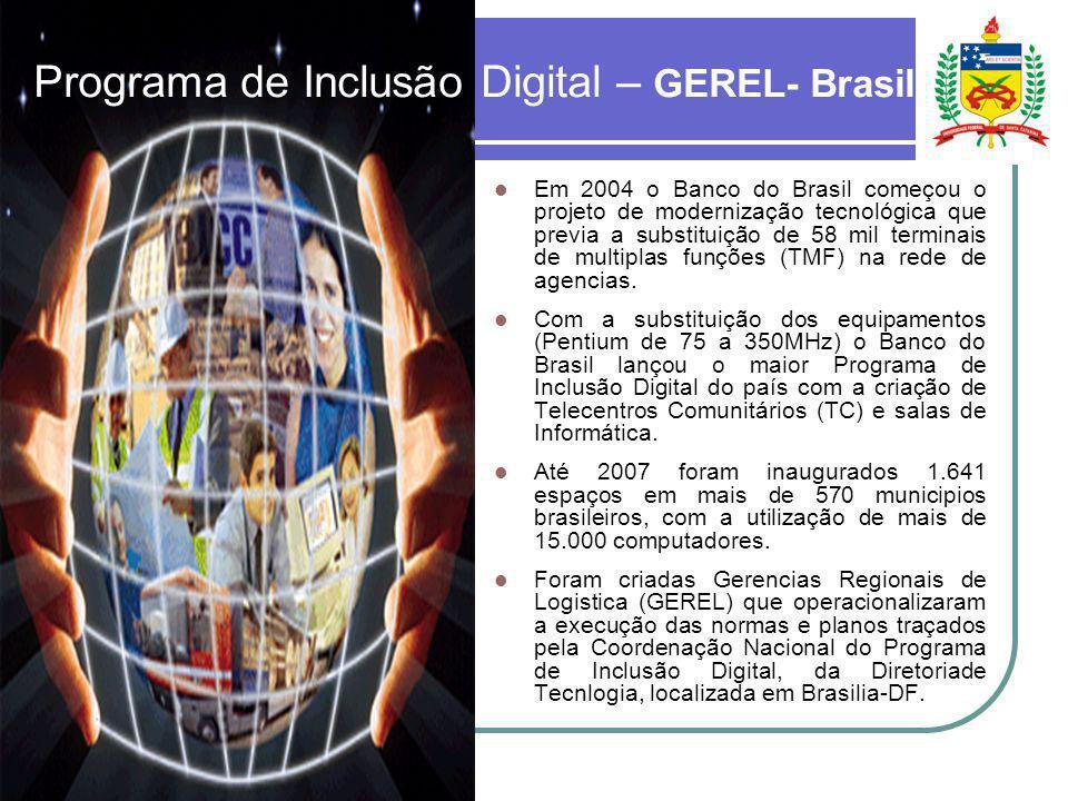 Programa de Inclusão Digital – GEREL- Brasil