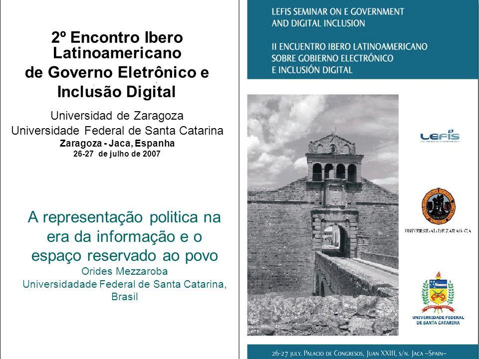 2º Encontro Ibero Latinoamericano de Governo Eletrônico e