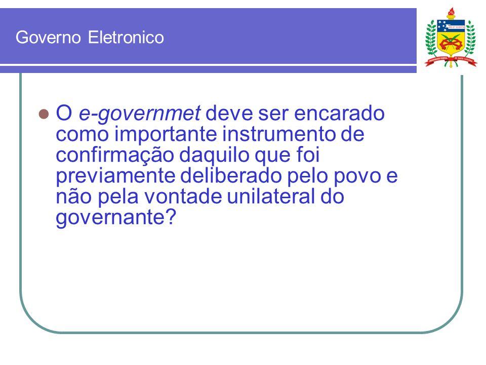 Governo Eletronico