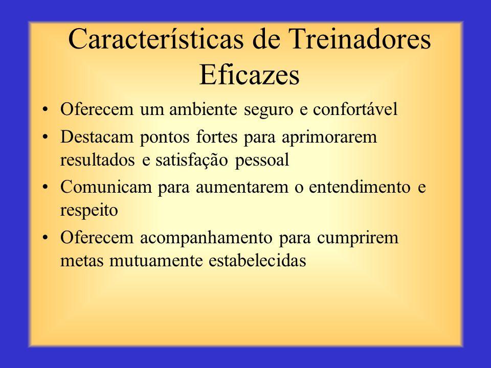 Características de Treinadores Eficazes