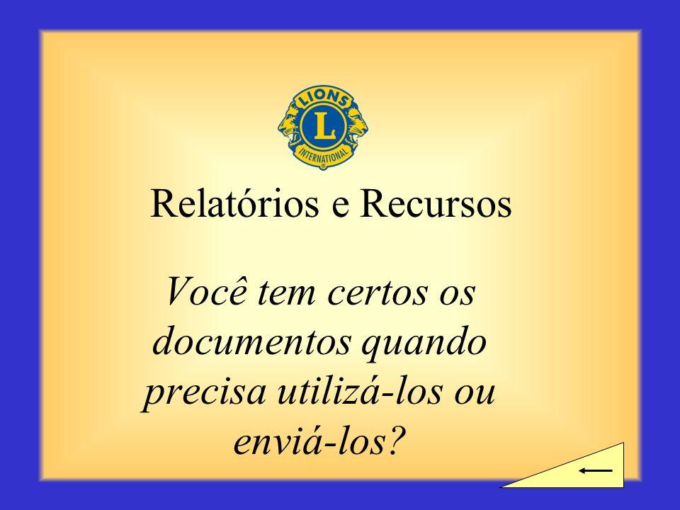 Você tem certos os documentos quando precisa utilizá-los ou enviá-los