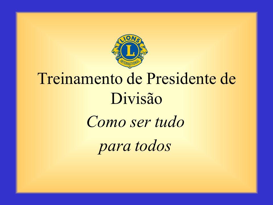 Treinamento de Presidente de Divisão