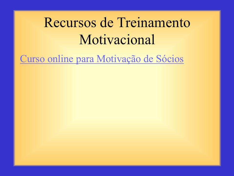 Recursos de Treinamento Motivacional