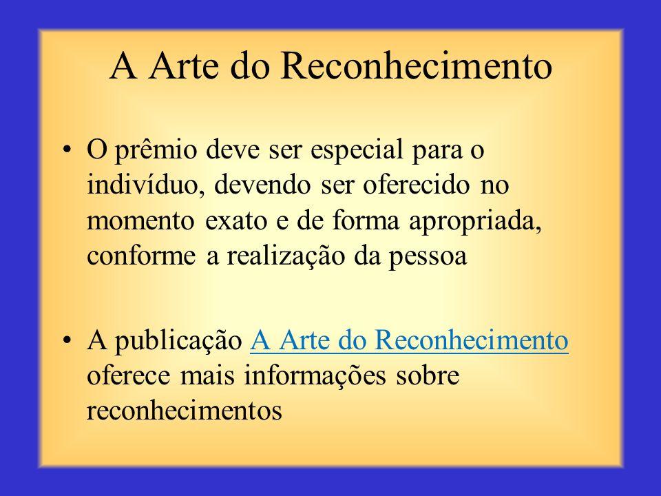 A Arte do Reconhecimento
