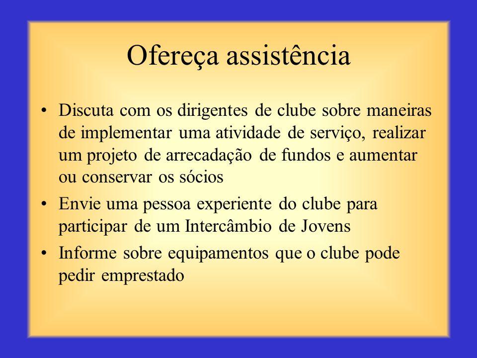 Ofereça assistência