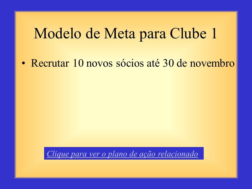 Modelo de Meta para Clube 1