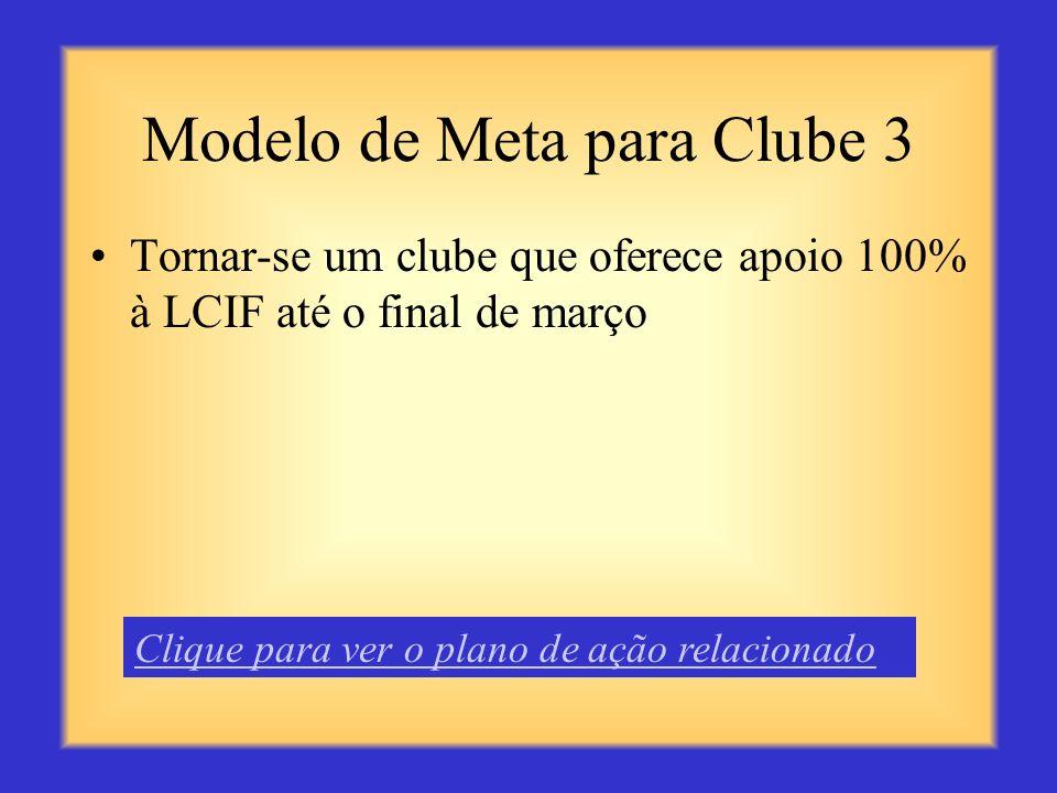 Modelo de Meta para Clube 3