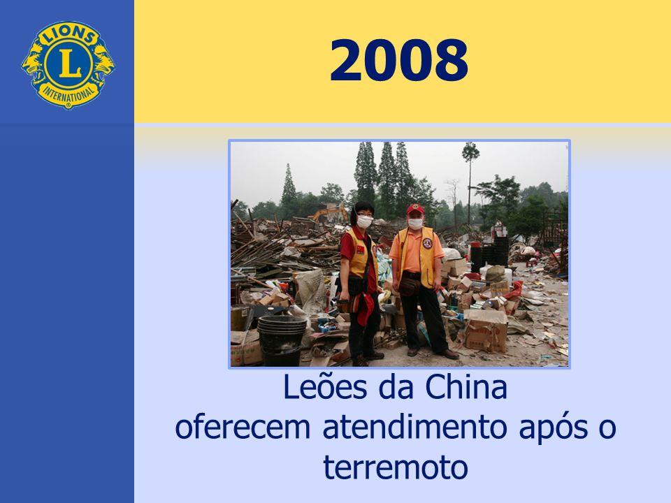 oferecem atendimento após o terremoto