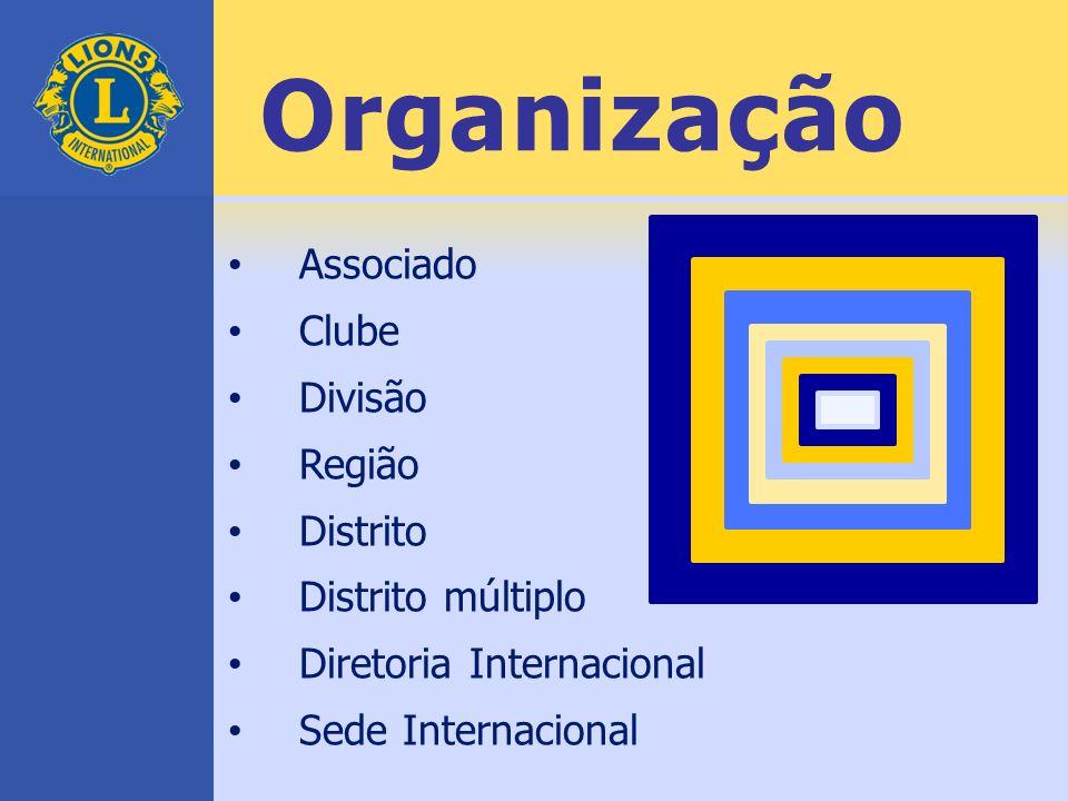 Organização Associado Clube Divisão Região Distrito Distrito múltiplo