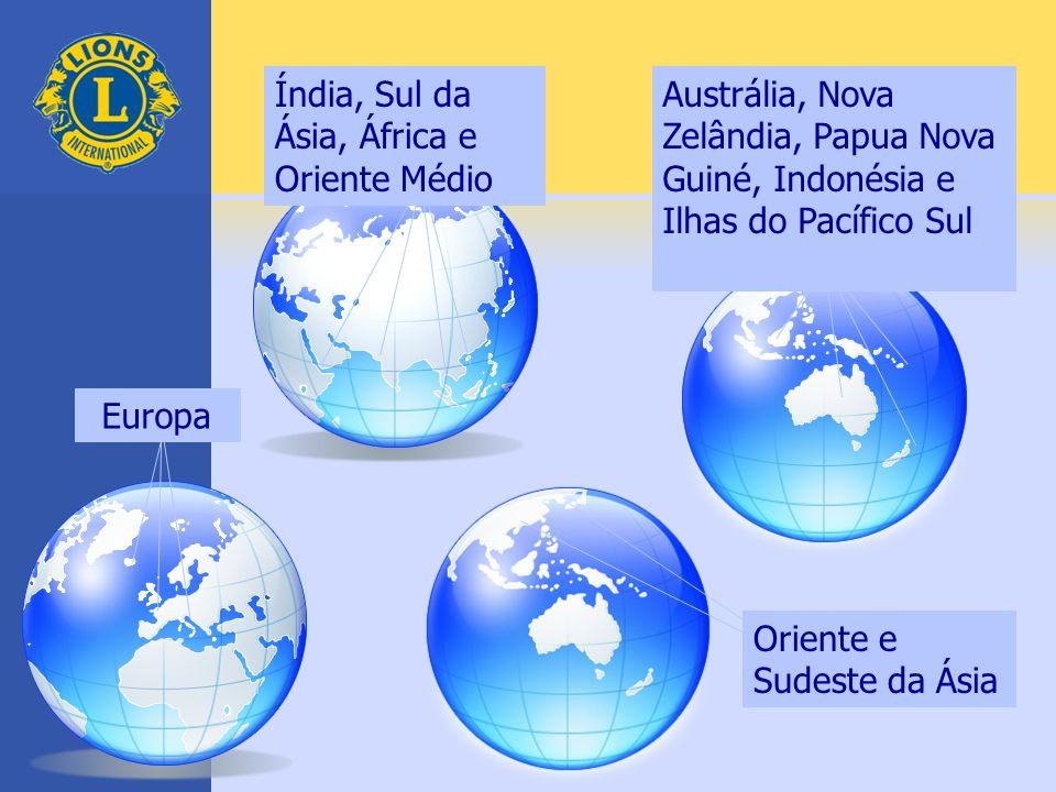 Índia, Sul da Ásia, África e Oriente Médio