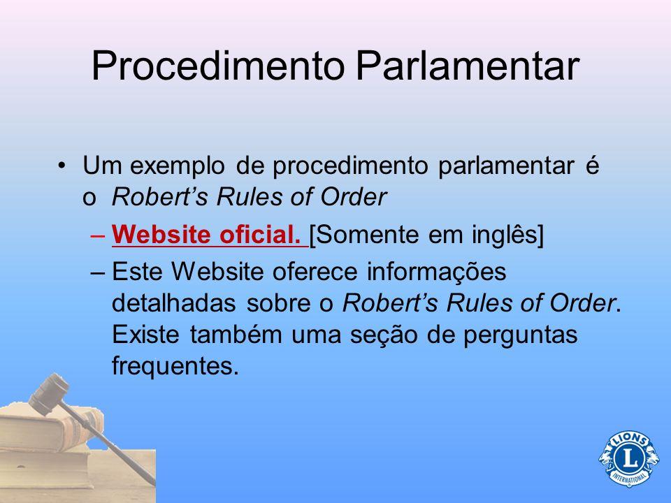 Procedimento Parlamentar