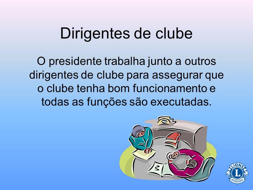 Dirigentes de clube
