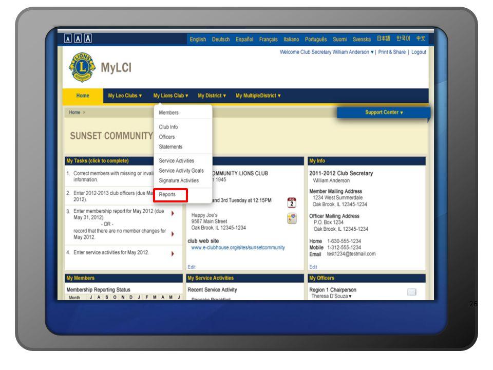 Apresentador B: Vamos aprender sobre como acessar os relatórios de sócios pré-formatados, disponíveis no MyLCI.