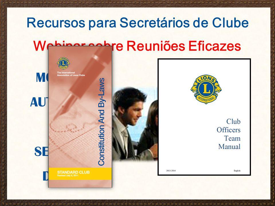 Webinar sobre Reuniões Eficazes