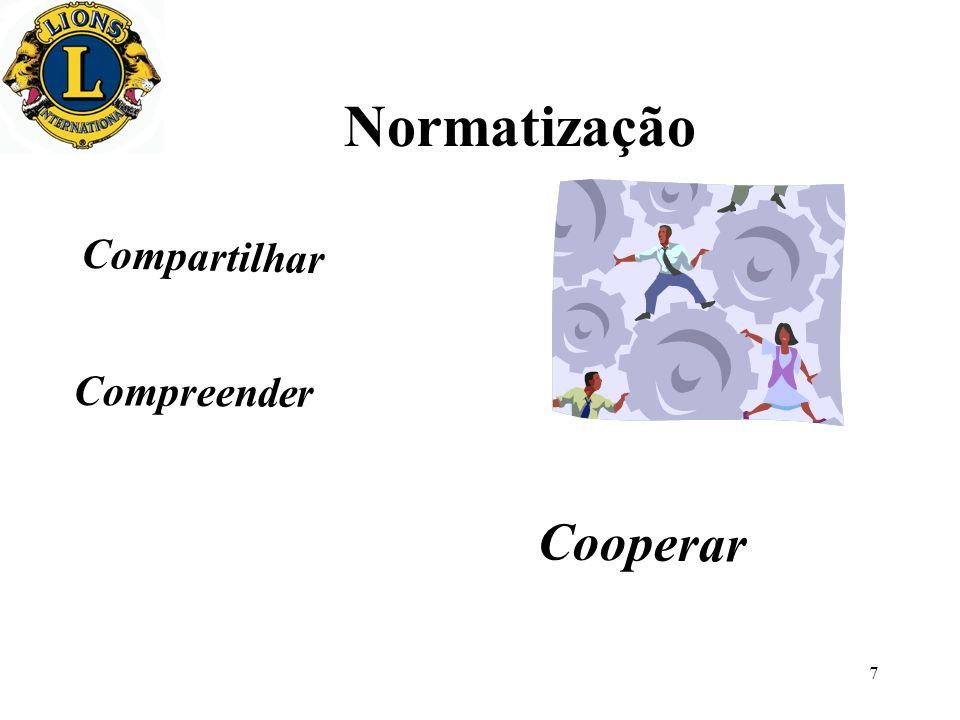 Normatização Compartilhar Compreender Cooperar