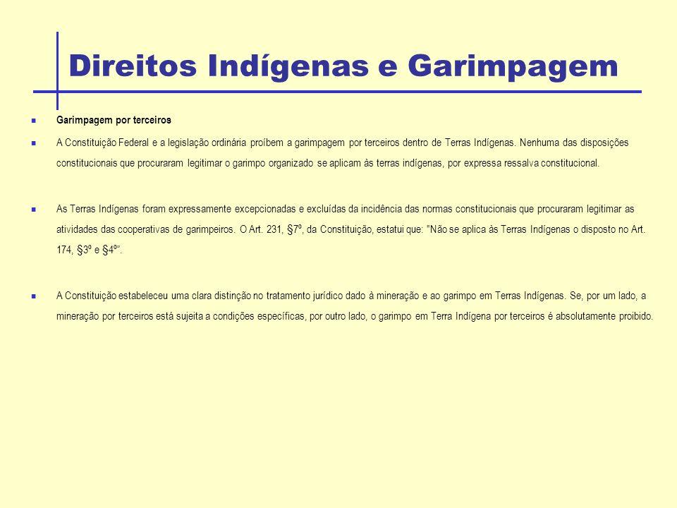 Direitos Indígenas e Garimpagem