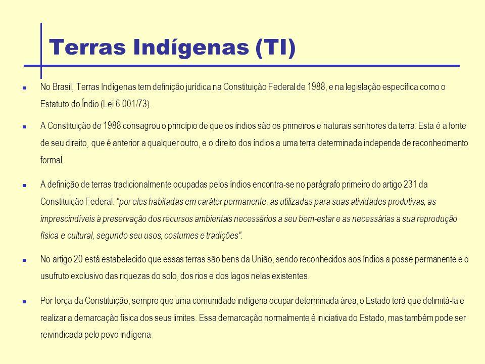 Terras Indígenas (TI)