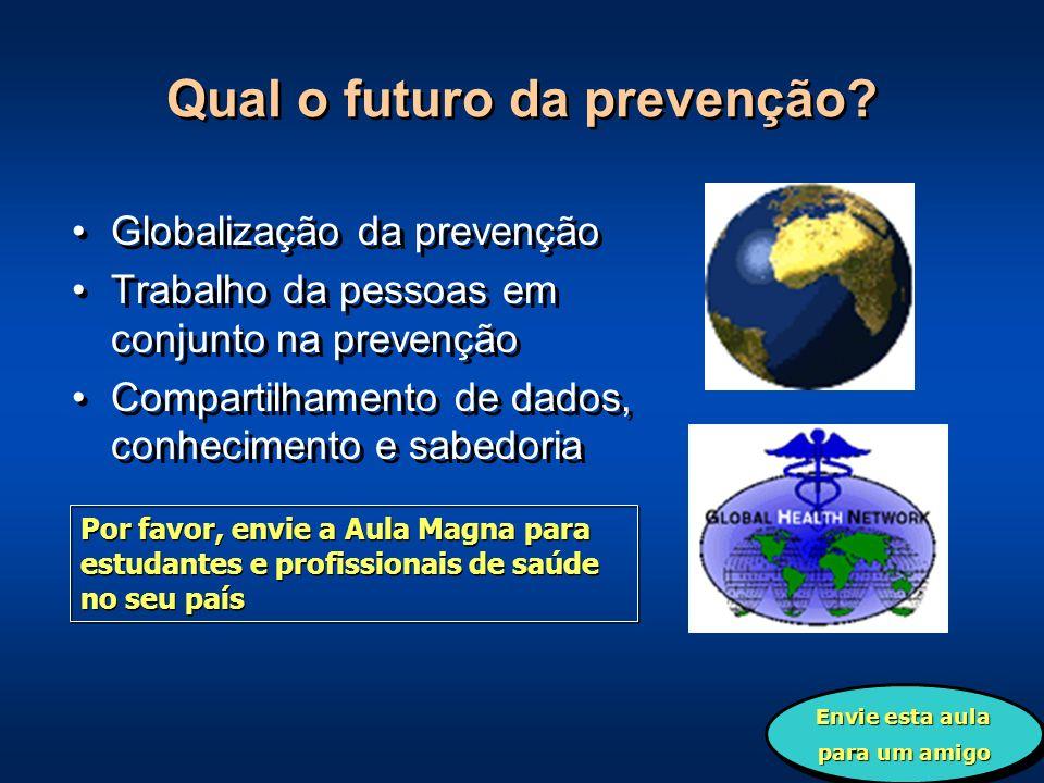 Qual o futuro da prevenção