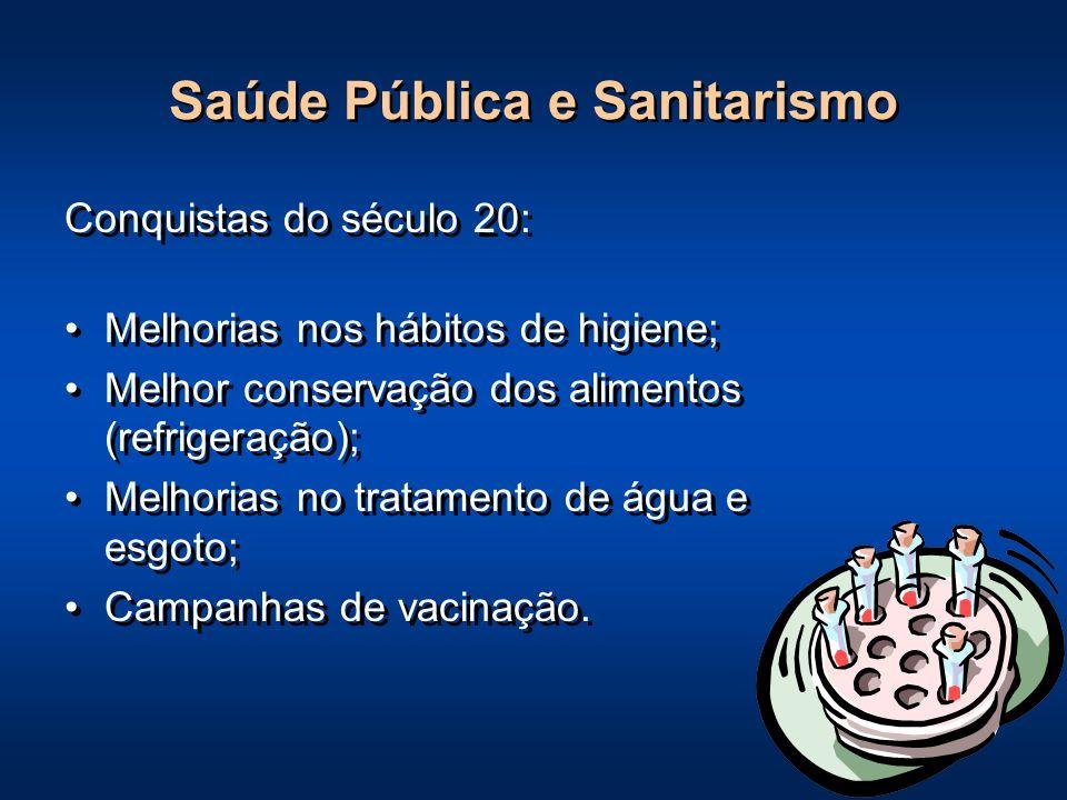 Saúde Pública e Sanitarismo