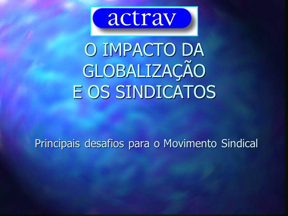 O IMPACTO DA GLOBALIZAÇÃO E OS SINDICATOS