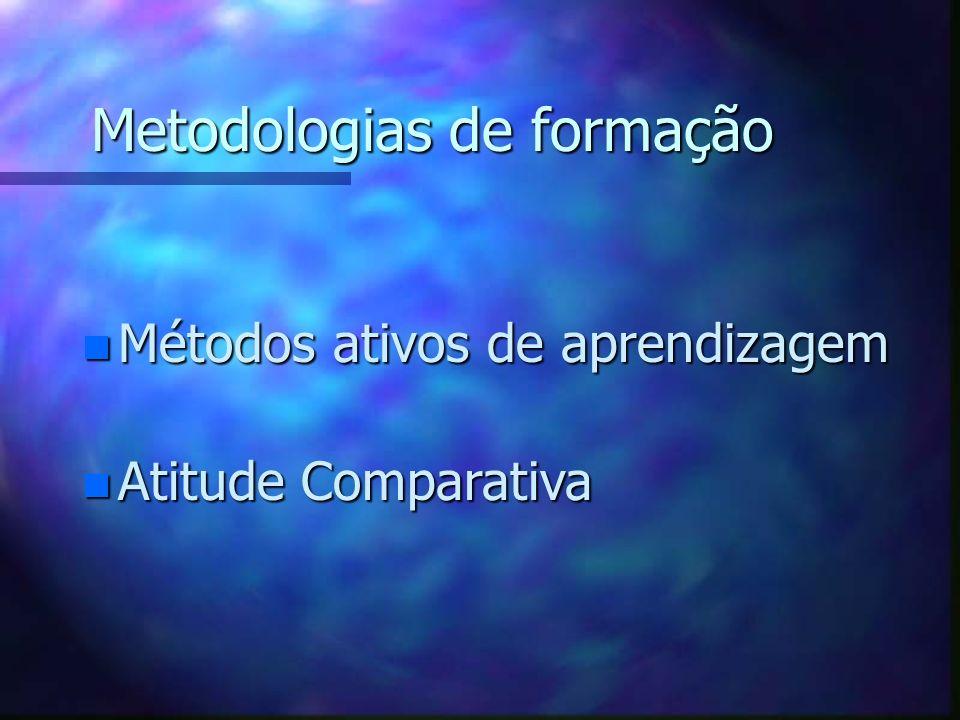 Metodologias de formação