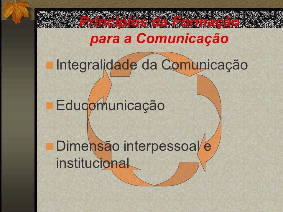 Princípios da Formação para a Comunicação