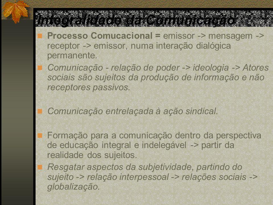 Integralidade da Comunicaçäo