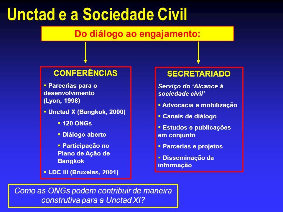 Unctad e a Sociedade Civil