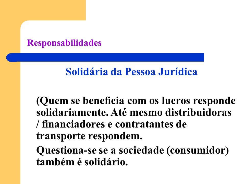 Solidária da Pessoa Jurídica
