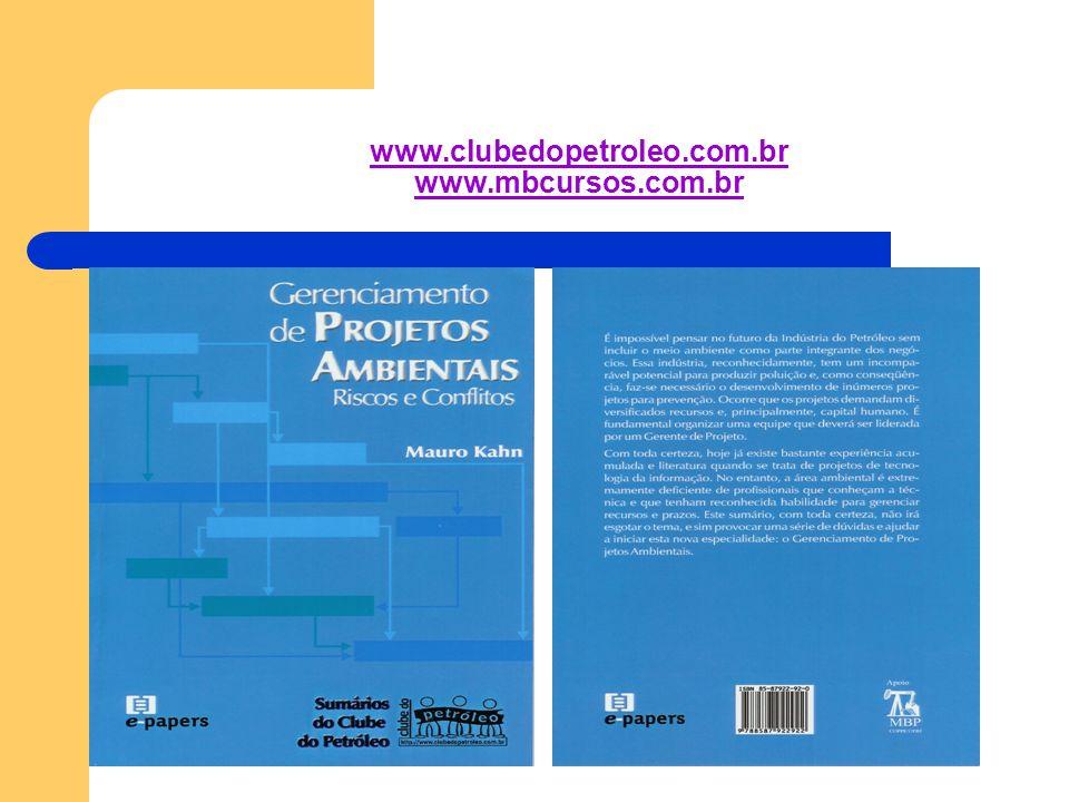 www.clubedopetroleo.com.br www.mbcursos.com.br