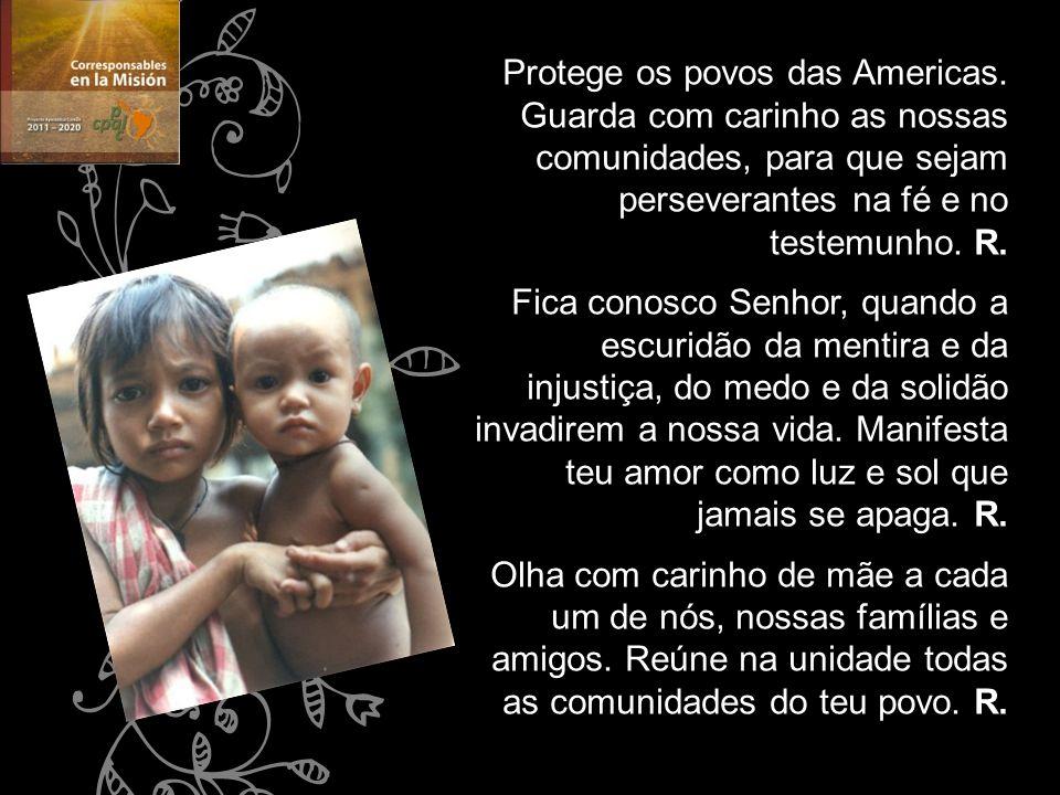Protege os povos das Americas