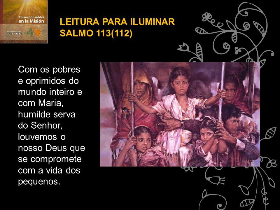 LEITURA PARA ILUMINAR SALMO 113(112)
