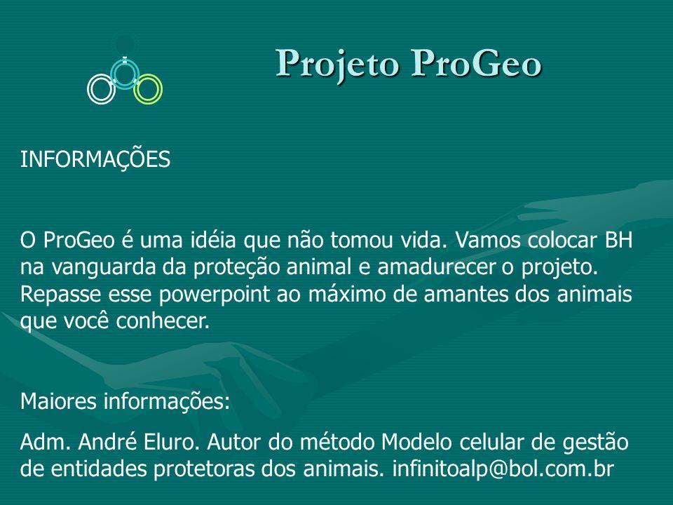 Projeto ProGeo INFORMAÇÕES