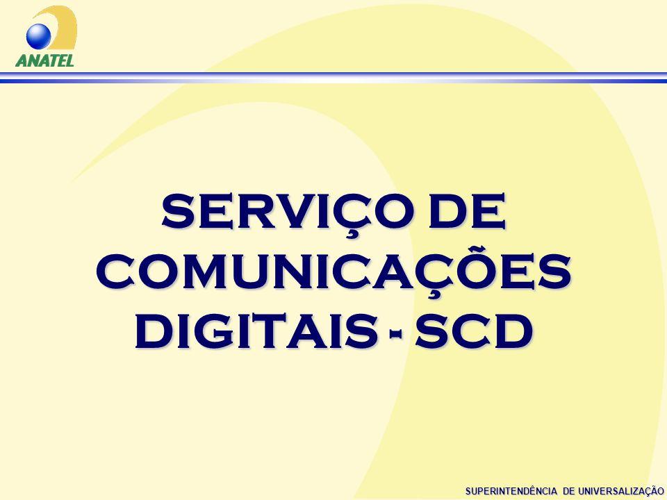 SERVIÇO DE COMUNICAÇÕES DIGITAIS - SCD